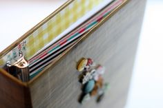 Homemade binder tutorial from the Crate Paper blog by Kinsey Wilson. So sweet!