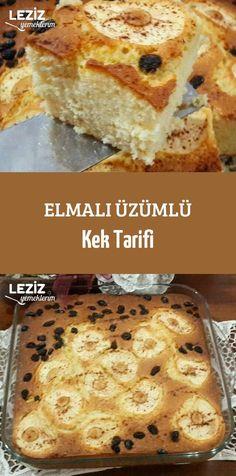 Elmalı Üzümlü Kek Tarifi