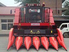 TR9988-6A Self-propelled Corn Combine Harvester