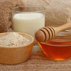 Milk, honey, and oatmeal bath     Want soft and supple skin? Look no further than your kitchen!   History shows that cleopatra took baths in milk and honey, and you can take it one step further. This bath can not only help dry skin, the oatmeal also soothes rashes, sunburn, psoriasis, and eczema as well as being great for acneic, oily, and aging skin.   All you need is:   -1 cup oatmeal (instant and quick work well)  -1-2 cups milk (full fat works best to moisturize)  -1/2 cup honey…