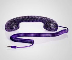 Combine the gift of gab with the gift of glam (to your bridesmaids or maid-of-honor perhaps). When you chitchat on this Swarovski-encrusted handset, talk will never be cheap. Only chic.