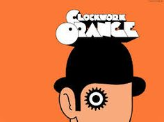 clockwork orange alex - such simple powerful imagrey and bold use of colour. love it.