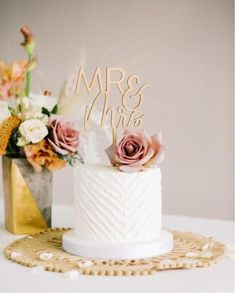 Custom Cake Toppers, Custom Cakes, Wedding Cake Toppers, Wedding Cakes, Mr And Mrs Wedding, Handmade Wedding, Tiered Cakes, Mr Mrs, Wedding Designs