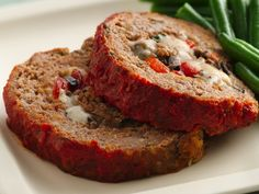 Italian Cheese-Stuffed Meat Loaf