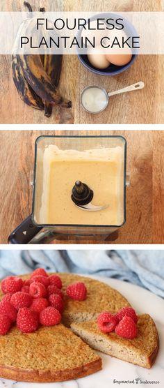 flourless plantain cake 6