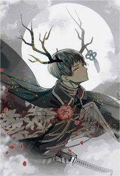 Japan (Kiku Honda). Anime Hetalia (aph/Axis Powers Hetalia)