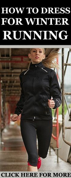 Winter is here and it's time you learn how to dress for cold weather running and…
