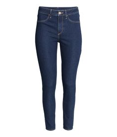 High Waisted Ankle Jeans | H&M Denim