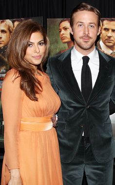 Ryan Gosling x Eva Mendes at The Place Beyond the Pines premiere