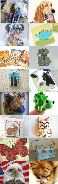 A Bit of A Animal in All Of Us by Nancy on Etsy--Pinned with TreasuryPin.com