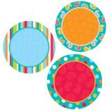 "Checkout the ""Dots On Turquoise Dots 6 Inch Designer Cut Outs"" product"