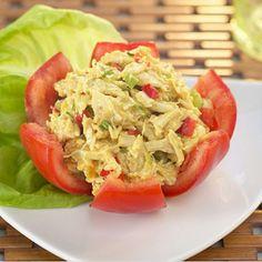 #Salade de #poulet #curry #mangue #recette l Follow Sophie's Store on Pinterest