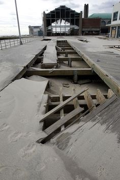 Asbury Park Boardwalk after Sandy