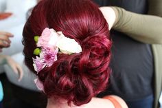 Brides hair By www.aleeshadarke.com
