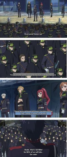 Owari no Seraph| This is literally almost every anime ever xD