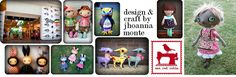 One Red Robin: Craft-Design-Dolls-Softies-Patterns-Handmade