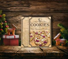 5 recipes for homemade cookies chocolate by BlueberryDreamDesign