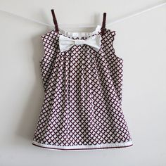 Free sewing patterns for little girls dresses.