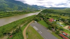 Palmar Airport and Terraba River - Costa Rica