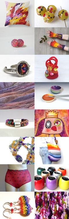 Tickled By Color by Carla on Etsy--Pinned+with+TreasuryPin.com