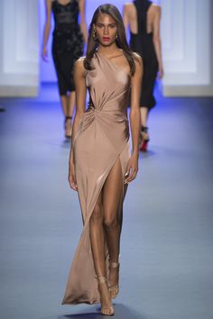 Selena Gomez one shoulder gown 'Wolves' video