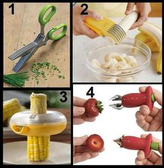 Some useful Kitchen Tools ♥ for more details, please click on the photo.