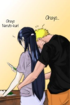 Naruto and his wife