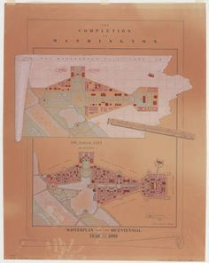 Leon Krier, plan for the completion of Washington