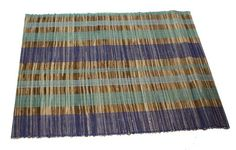 Striped Bamboo Placemat (Individual)
