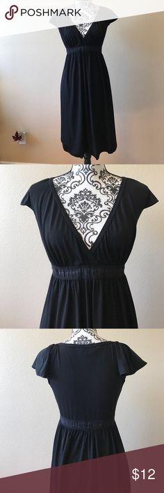 🌟Max Studio Black Dress🌟 Low V-Neck black dress. Max Studio Dresses
