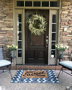 4 easy steps to a quick Summer front porch makeover