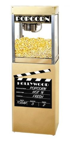 HTD Canada 4 oz Premiere Commercial Popcorn Machine With Pedestal
