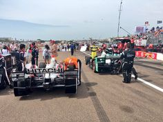 Headed to the grid... #FirestoneGP #INDYCAR