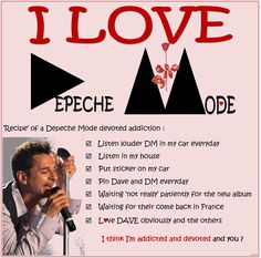 DAVE GAHAN 2015 - DEPECHE MODE DEVOTED