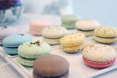 Macarons at Soirette Macarons & Tea (Vancouver, BC). #macarons