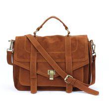 Grande mochila retro saco do mensageiro saco carteiro pasta designer bolsas sacos crossbody para mulheres camurça(China (Mainland))