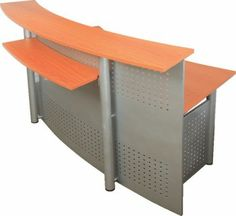 reception desks fast office furniture bow front reception counter office