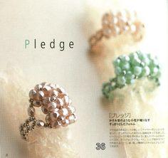 Elegant beads ring - Maite Omaechebarria - Picasa Web Albums