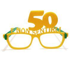 Occhiali in plexiglas 50 anni