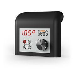 Пульт управления электрической каменкой Sauna Design, Nest Thermostat