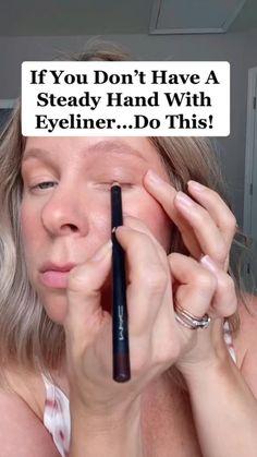 Smokey Eyeliner, Natural Eyeliner, Eyeliner Looks, Gel Eyeliner, Pencil Eyeliner, Quick Makeup, Diy Makeup, Makeup Art, Makeup Tips