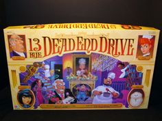 13 Dead End Drive. Anyone remember this game? #boardgame #90s #nostalgia