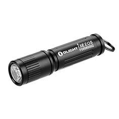 Flashlights - Olight 90 Lumens i3E EOS PMMA TIR lens AAA Flashlight 120 Lumens for Silver onlyAAA Flashlight EDC Flashlight Compact Keychain Flashlite Updated Edition of Olight i3s Keychain Light * Check out this great product.