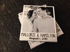 "25 Custom Photo Magnets - Save the Date - Weddings - Anniversary - Baby Announcement - 2"" x 2.25"" Size"