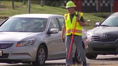 Police in Marietta, Georgia, are dressing as construction workers in order to crack down on distracted driving. CNN affiliate WSB reports.