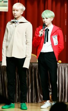 Yoongi looks like a little kid next to Rapmon and then I realize I'm 6 inches shorter than yoongi...