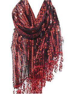 Scarfclub Metallic Red Scarf Shawl Cowl Scarf Sparkle Sca... https://www.amazon.com/dp/B016B864K4/ref=cm_sw_r_pi_dp_x_cmdqybXBK39RC