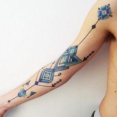 15 hermosos tatuajes amazónicos que te transportarán a lo más profundo de la selva | Upsocl