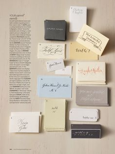 martha+stewart+weddings | Martha Stewart Weddings Spring 2011 Calligraphy Story 300x402 Sneak ...