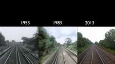 What the Same Train Ride Looked Like in 1953, 1983 and 2013